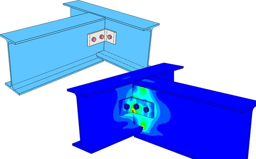 Połączenia śrubowe w konstrukcjach spawanych czyli złącza w SOLIDWORKS Simulation
