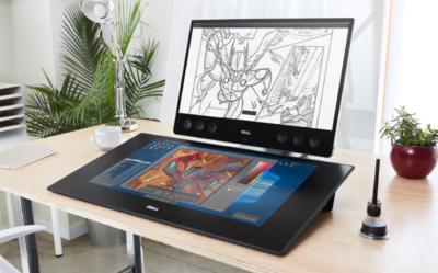 Sprzęt Dell dla profesjonalnych i wymagających grafików