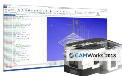 Nowości CAMWorks 2018 – Edytor kodu NC