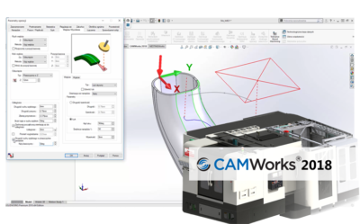 Nowości CAMWorks 2018 – Operacje wieloosiowe