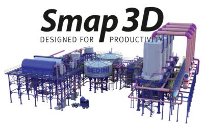 Smap3D Plant Design – narzędzie do projektowania instalacji rurowych