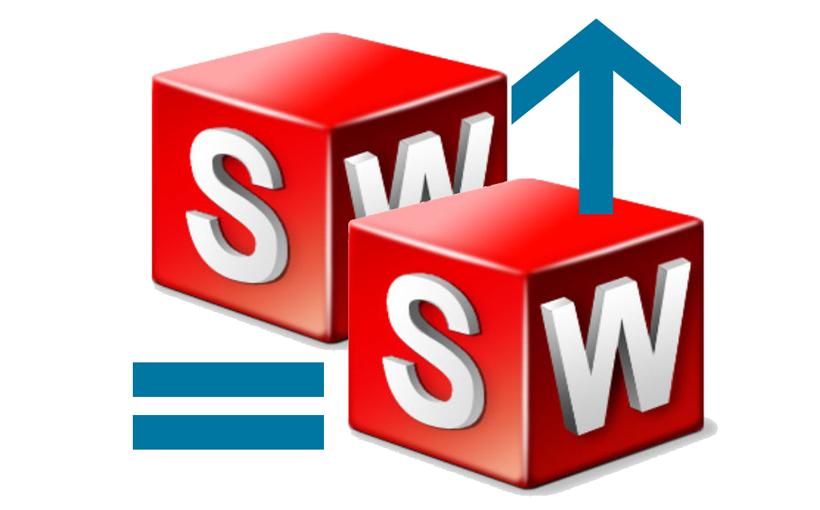 SOLIDWORKS: Narzędzie Upgrade Assistant –  aktualizacja plików CAD