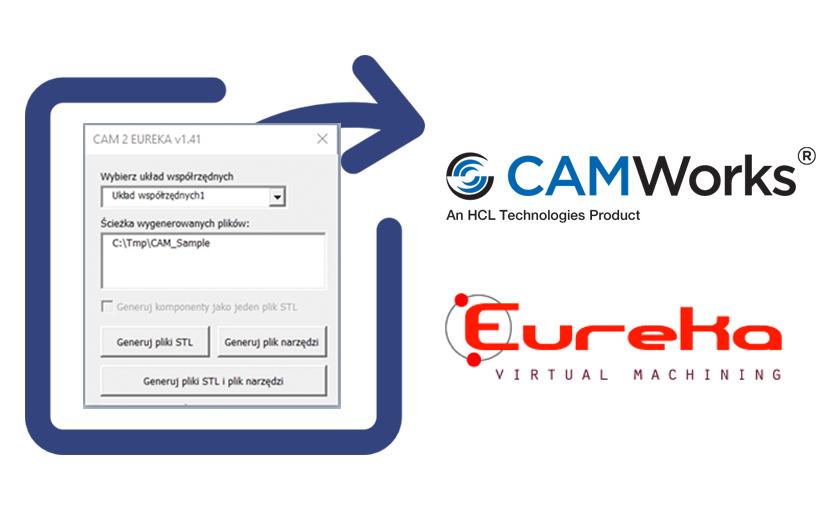 CAM2EUREKA – szybki eksport danych z CAMWorks do EUREKA