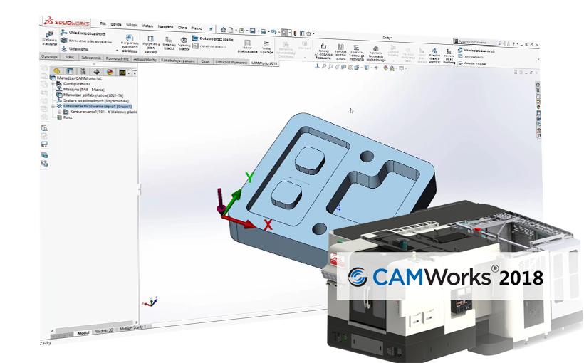 Nowości CAMWorks 2018 – Interfejs