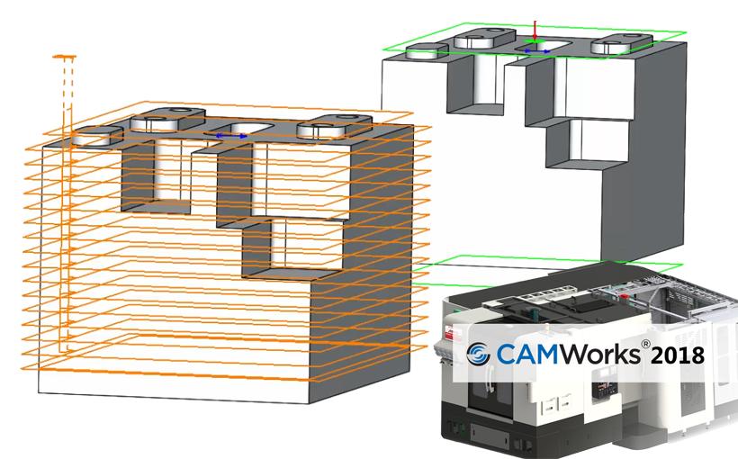 Nowości CAMWorks 2018 – Operacja frezowania