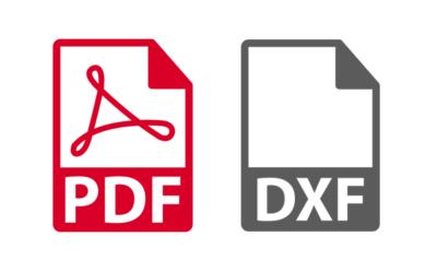 KREATOR DXF PDF – hurtowa generacja plików DXF z arkuszy blach oraz plików PDF z rysunków