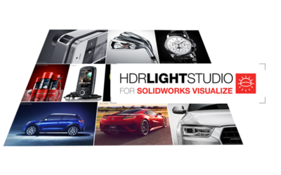 HDR Light Studio dla SOLIDWORKS Visualize