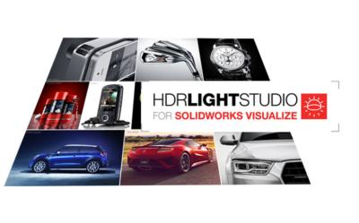 HDR Light Studio dla SOLIDWORKS Visualize