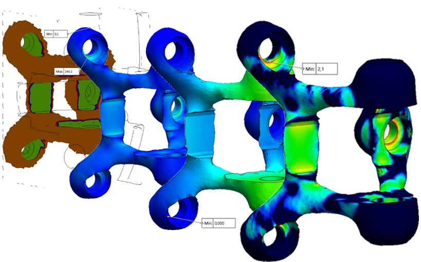 Optymalizacja topologii z SOLIDWORKS Simulation 2018