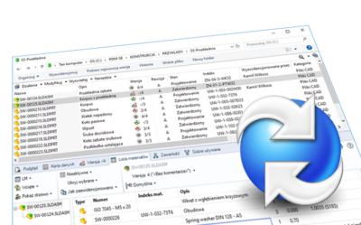 SOLIDWORKS PDM: Zapamiętanie widoku szczegółowego dla wszystkich folderów w przechowalni