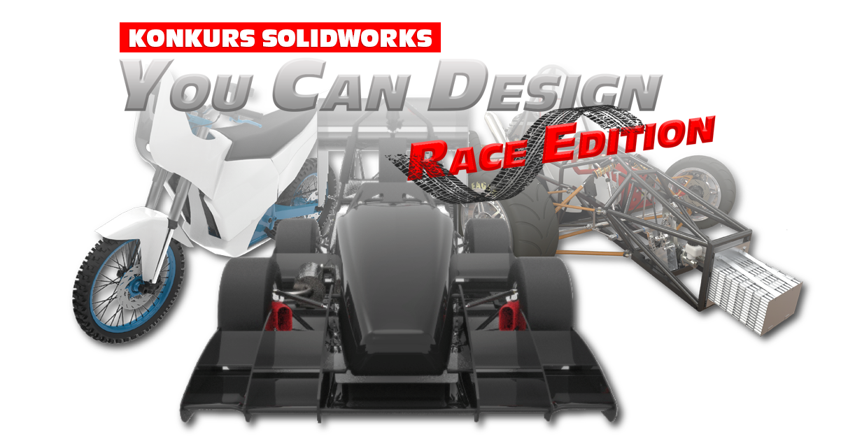 Konkurs SOLIDWORKS You Can Design – Race Edition wystartował!