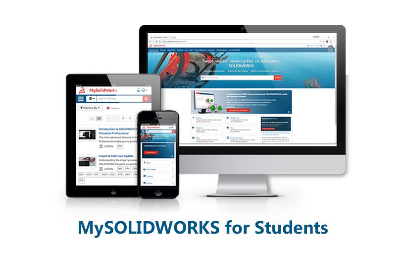 MySOLIDWORKS dla studentów – aktywacja konta
