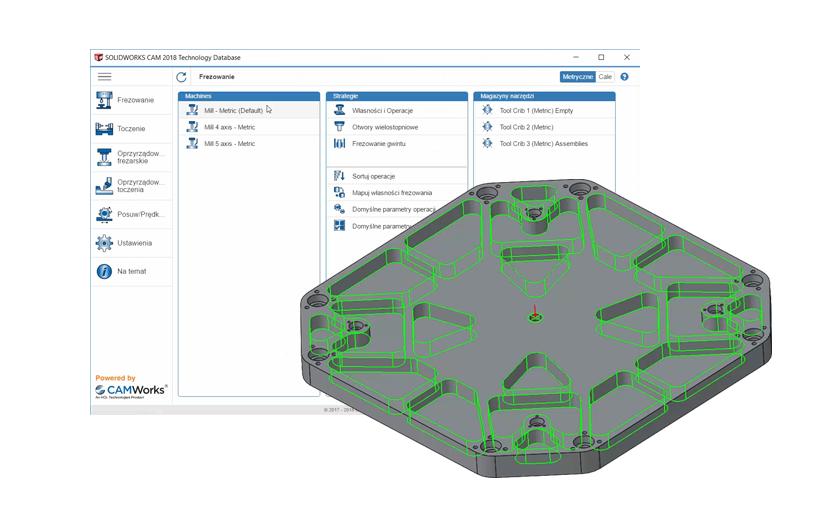Tworzenie Planu Operacji w SOLIDOWRKS CAM – automatyzacja pracy