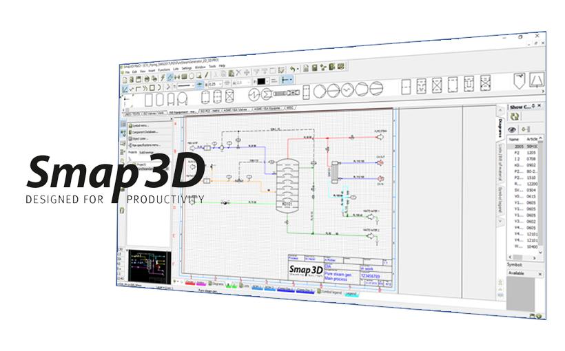 System KKS w Smap3D P&ID