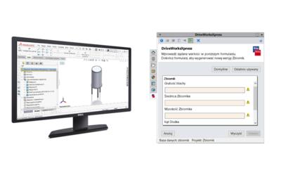 DriveWorks Xpress – Konfigurator zbiornika