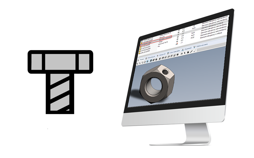 SOLIDWORKS – Usuwanie atrybutu Toolbox z komponentu