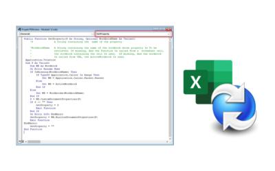"""SOLIDWORKS PDM – Zaczytanie zmapowanej zawartości MS Excel do komórek za pomocą makra (""""GetProperty"""")"""