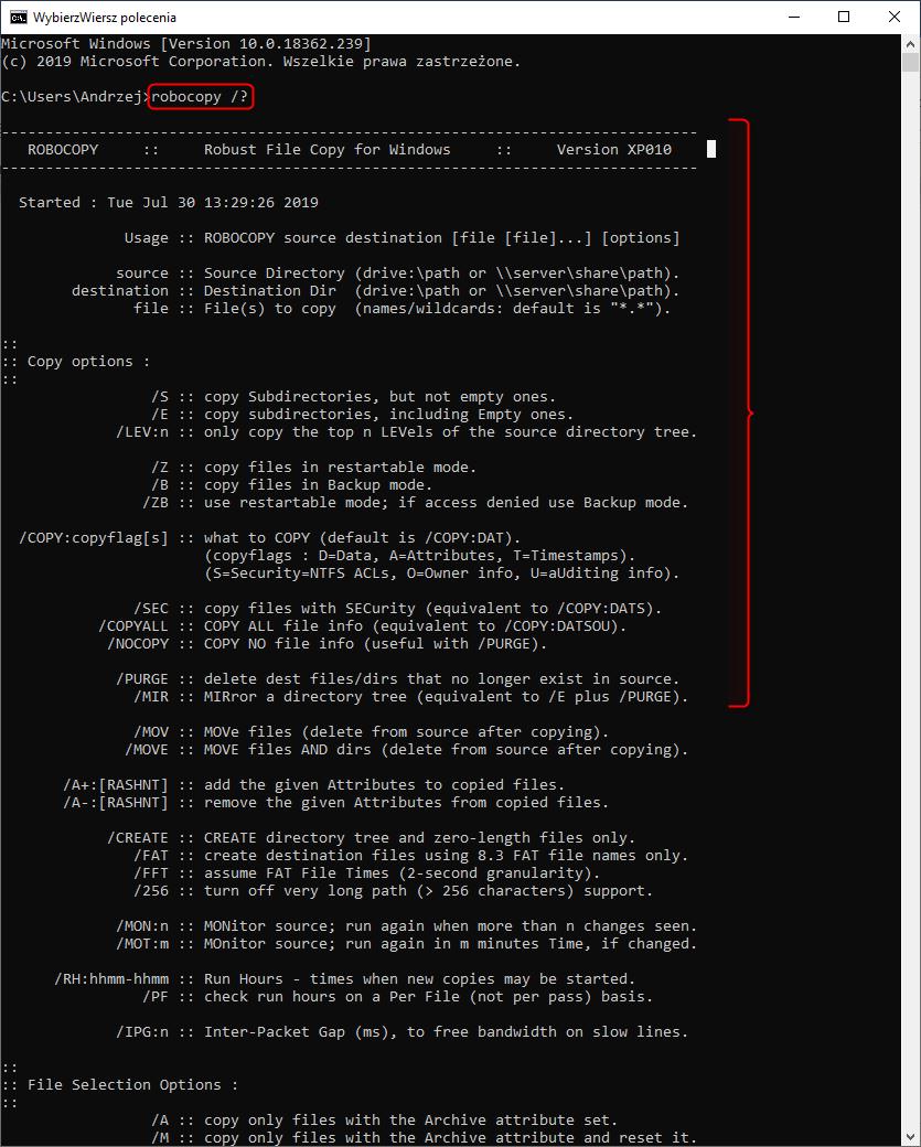 Obraz zawierający monitor, zrzut ekranu, tekst, siedzi Opis wygenerowany automatycznie