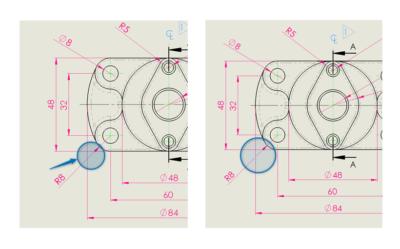 Przejrzyste rysunki w SOLIDWORKS za pomocą linii przerwania