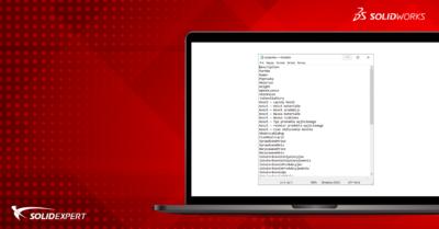 Jak dodać więcej właściwości do standardowej listy właściwości dostosowanych SOLIDWORKS