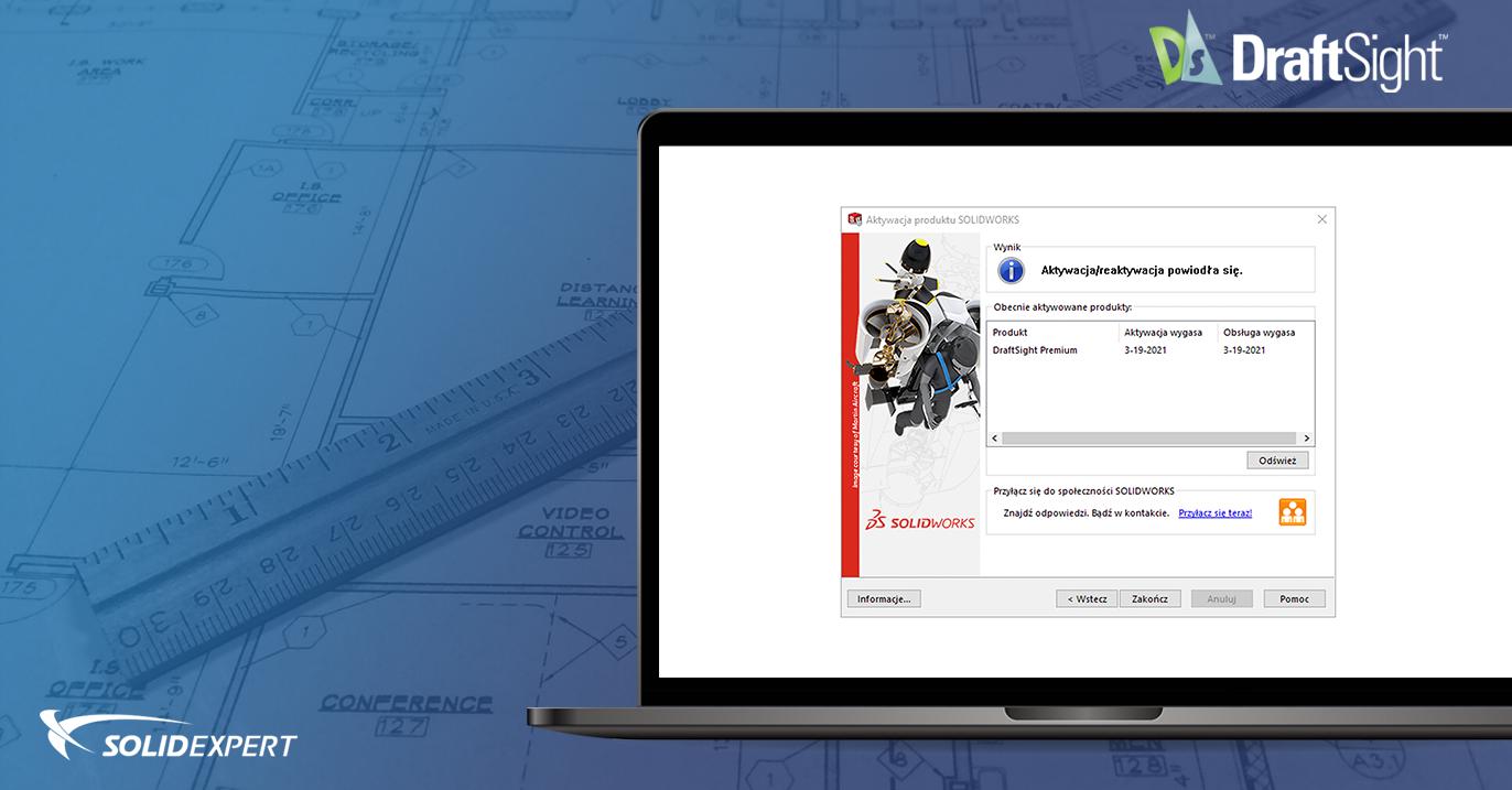 Jak używać licencji DraftSight na innym komputerze?
