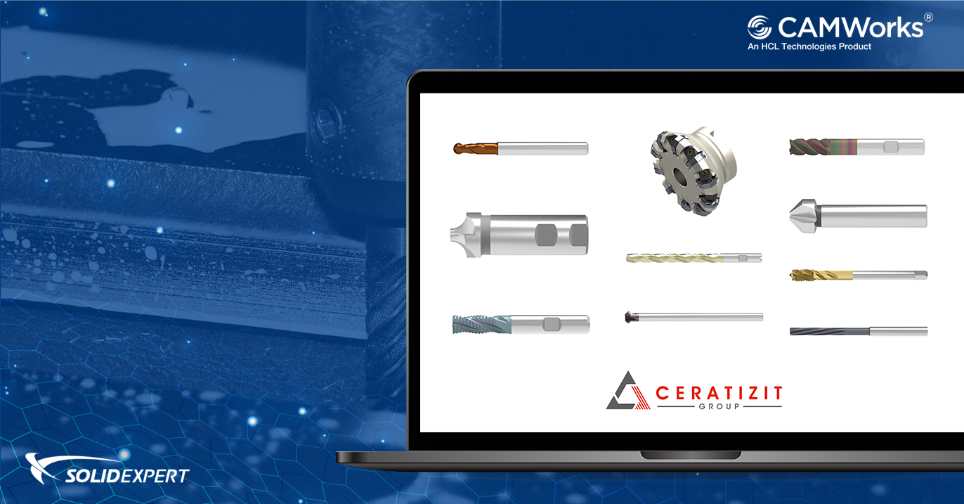 Baza narzędzi frezarskich Ceratizit – pobierz za darmo i korzystaj w CAMWorks