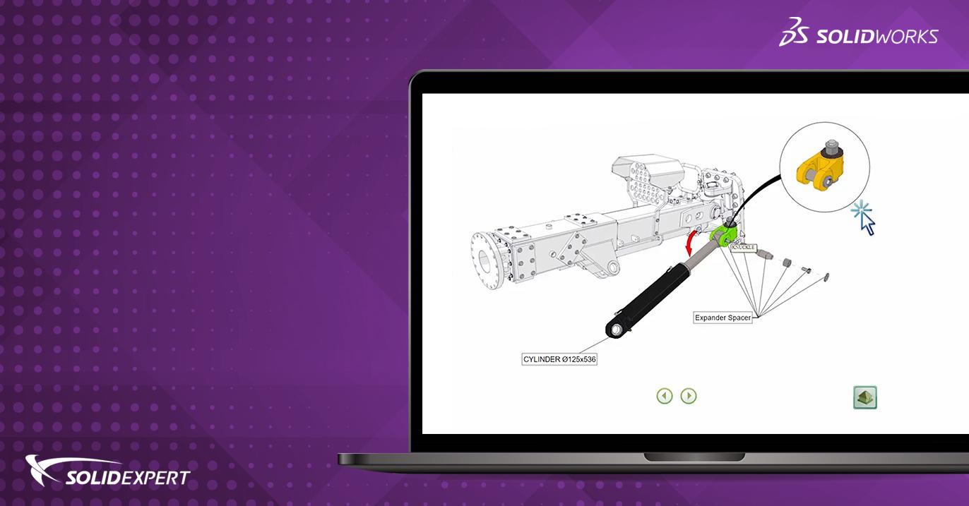 Webinar SOLIDWORKS Composer –  Jak przygotować ekstremalnie dobre ilustracje Twojego produktu?