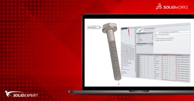 Konfiguracja Toolbox w SOLIDWORKS – Właściwości dostosowane