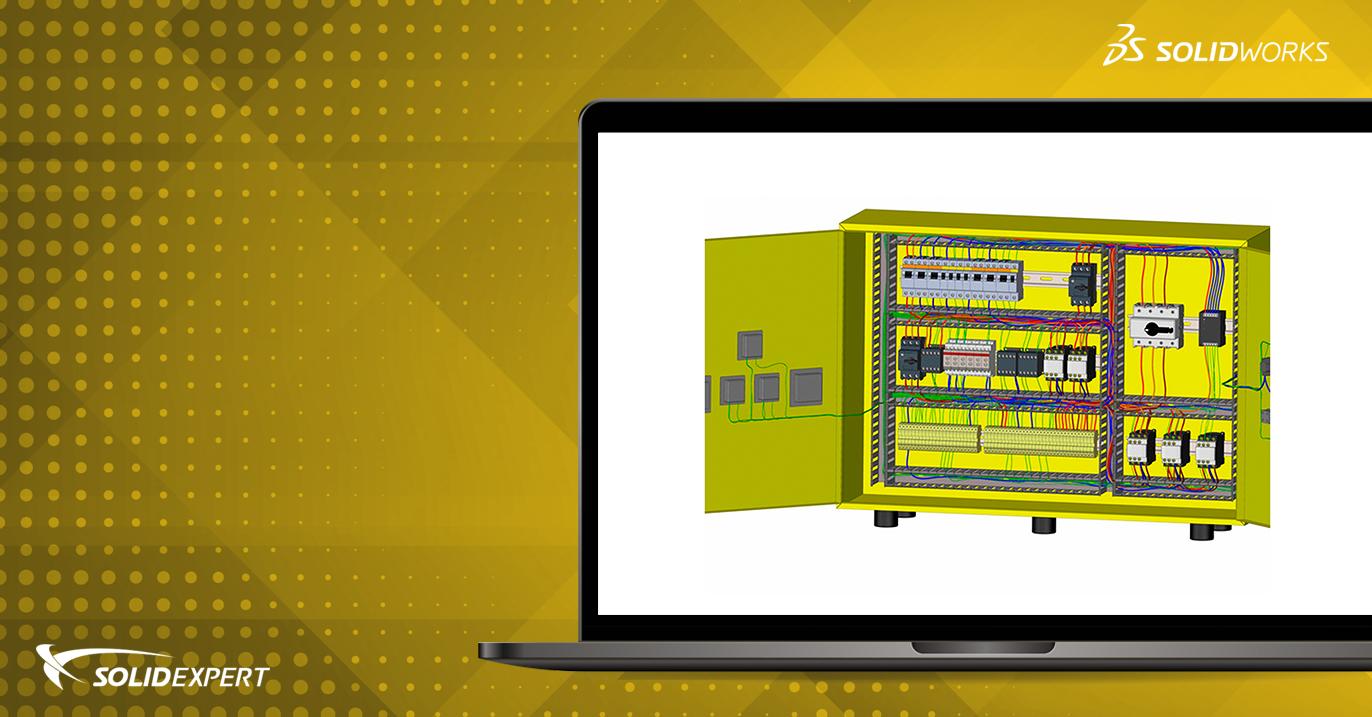 Webinar SOLIDWORKS Electrical – Projektowanie szaf elektrycznych 2D i 3D