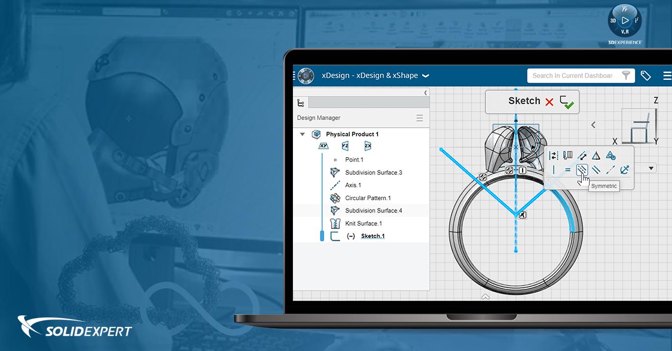 Webinar: Platforma 3DEXPERIENCE – Projektowanie w chmurze czyli rozwiązania xDesign i xShape