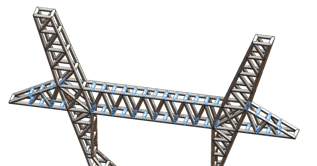 Obraz zawierający budynek, most, duży, pociąg  Opis wygenerowany automatycznie