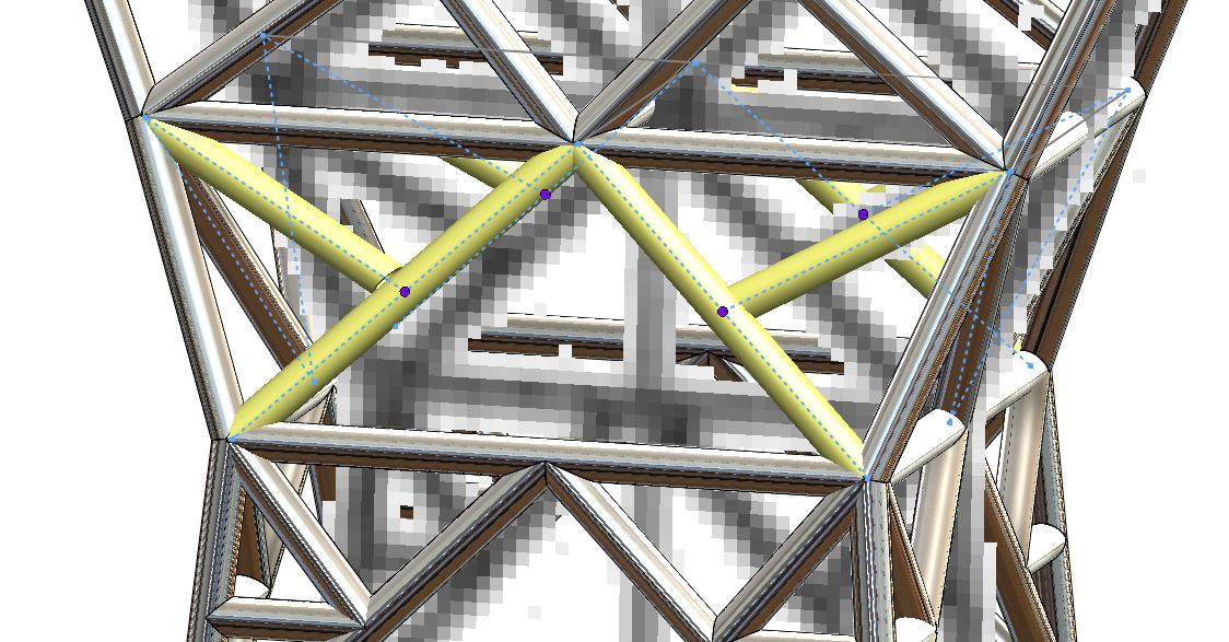 Obraz zawierający budynek, most, trójnóg  Opis wygenerowany automatycznie