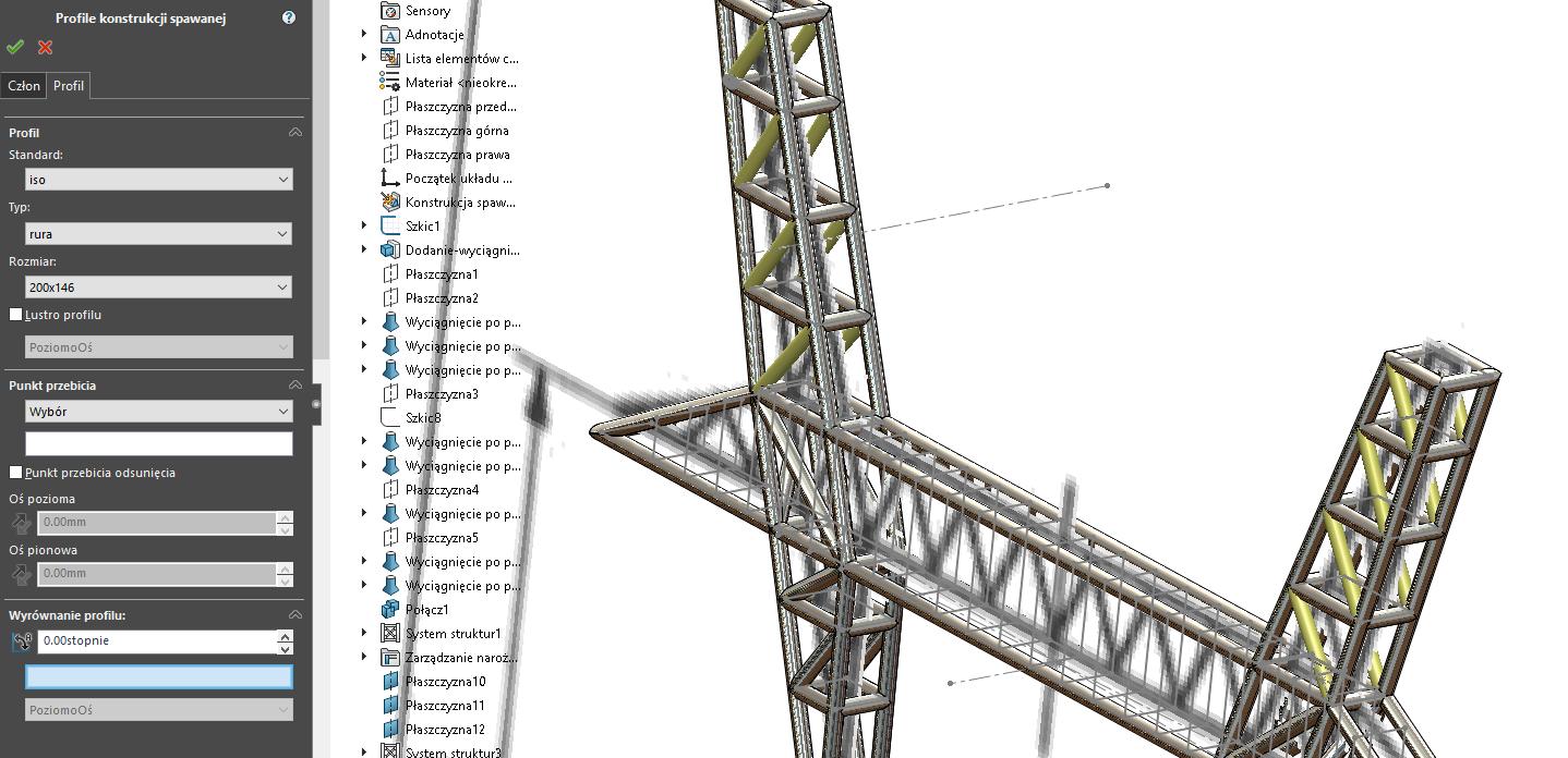 Obraz zawierający most  Opis wygenerowany automatycznie