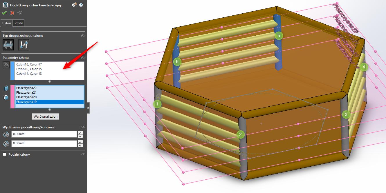 Obraz zawierający siedzi, stół, pudełko Opis wygenerowany automatycznie