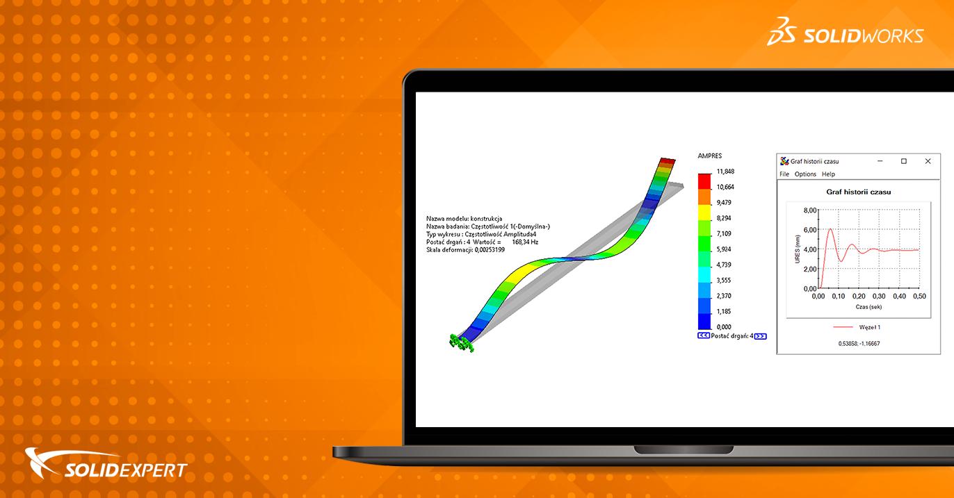 Webinar SOLIDWORKS Simulation – Nieliniowe problemy w dynamicznych czasach
