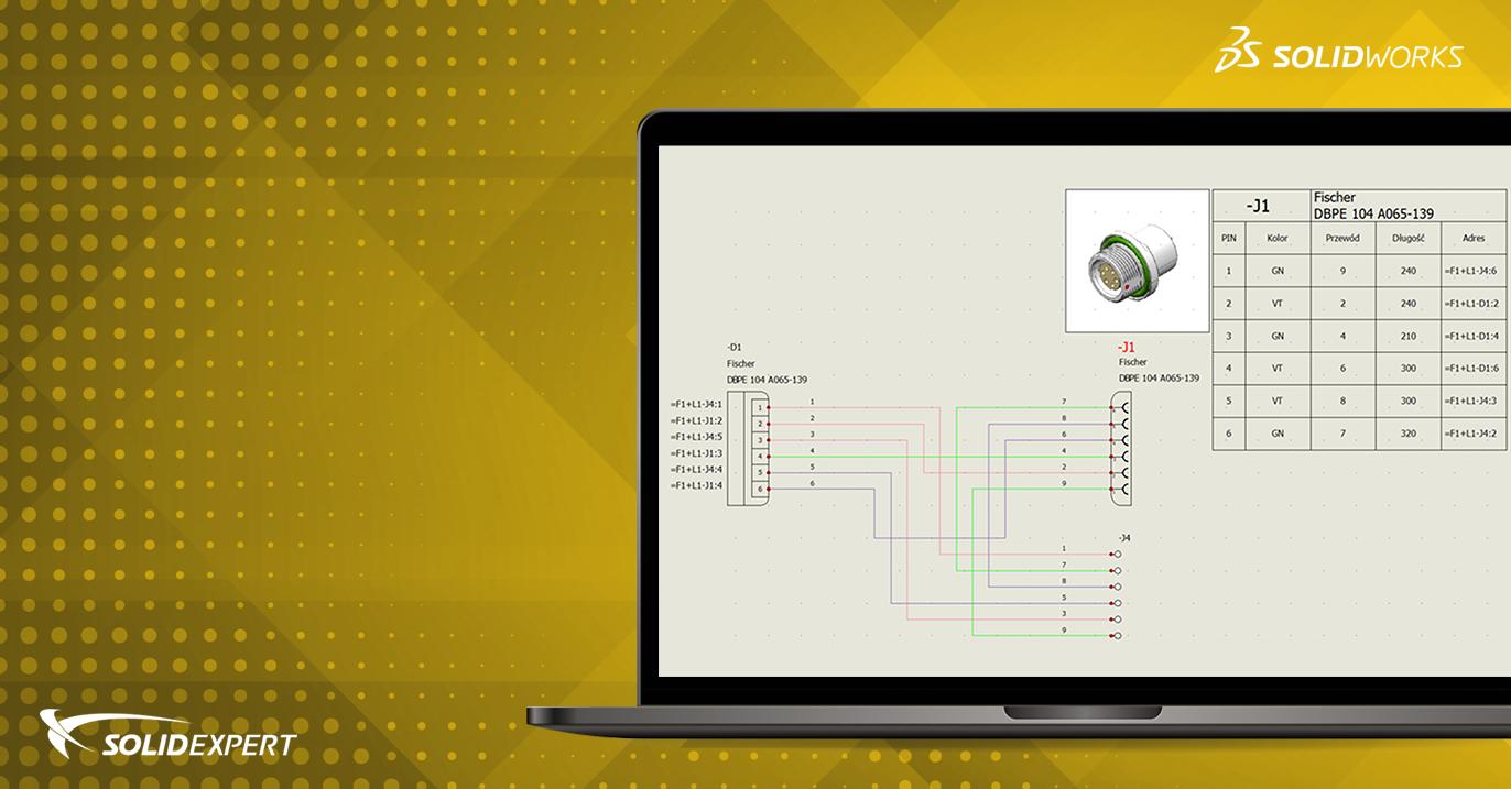 SOLIDWORKS Electrical – Tworzenie etykiet montażowych