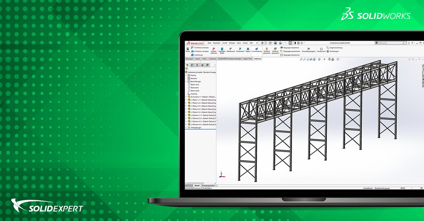 Smap3D Steel – Szybkie projektowanie konstrukcji spawanych w osobnych plikach części