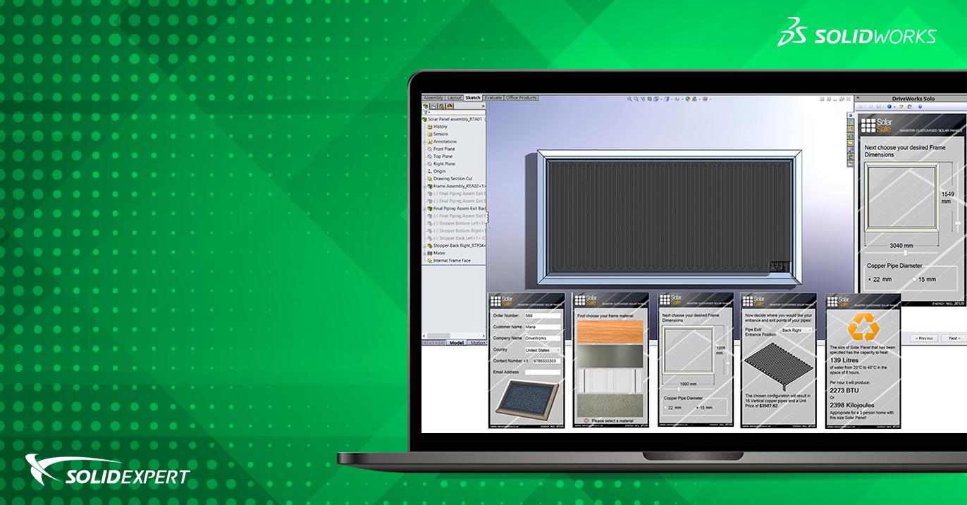 DriveWorks Solo – Automatyzacja projektowania w SOLIDWORKS