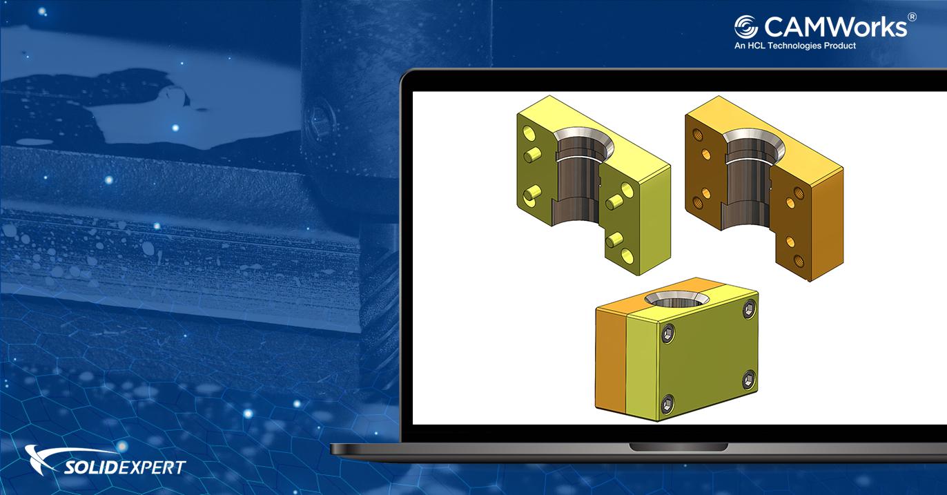 Obróbka złożeń w CAMWorks – Dostosowywanie modeli części złożenia