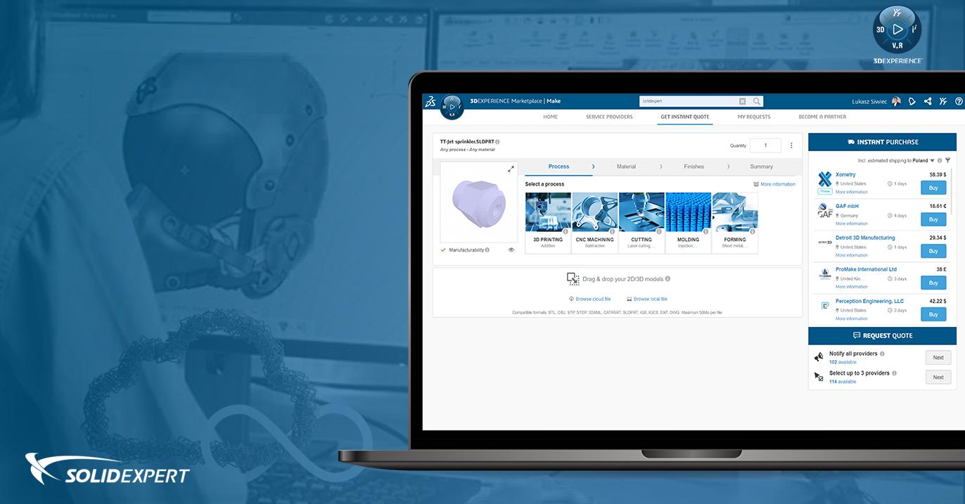 3DEXPERIENCE Marketplace – Amazon dla inżynierów