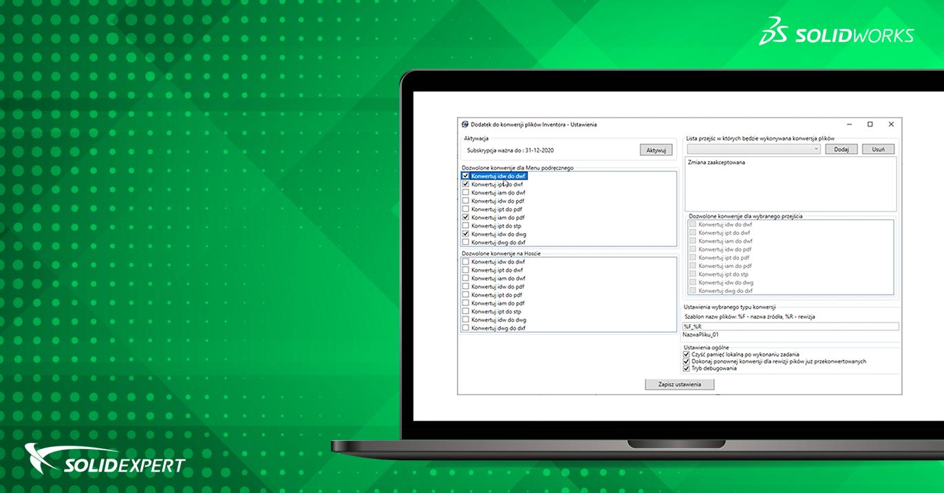 PDM Inventor Converter – Wsadowa konwersja plików Autodesk Inventor wśrodowisku PDM